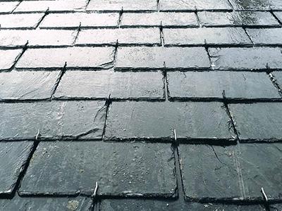 entretien d'ardoises de la toiture