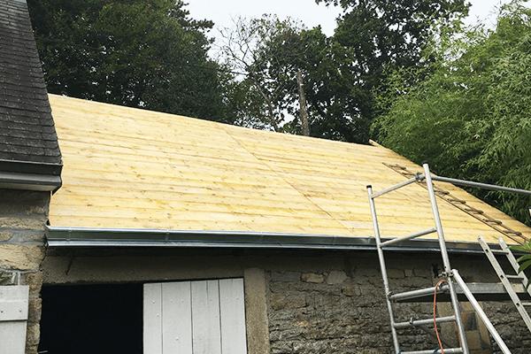 rénovation et remaniage toiture à Quimper et finistere