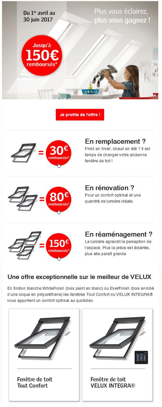 promotion 2017velux